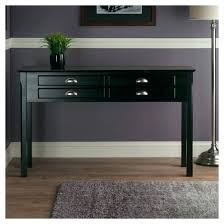 black sofa table with drawers small black hall table medium size of console black console table