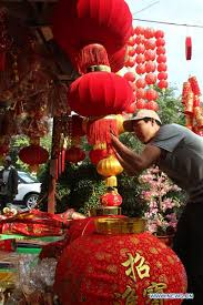 Lunar New Year 2016 Decorations by Cambodia Gearing Up For Chinese New Year Celebrations Chinadaily