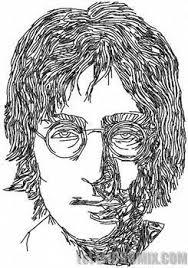 people legends legendary musicians john lennon embroidery