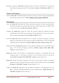 Sample Research Resume by Dr Ravi S Pandey Resume For Assistant Professor Research Scientist U2026