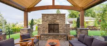 Outdoor Fireplaces And Firepits Tips To Decorate Your Outdoor Fireplace Decks