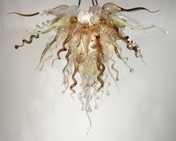 Glass Blown Chandeliers by Ed Pennebaker Italian Blown Glass Chandeliers