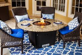Outdoor Furniture Naples by The Naples Fire Pit Table Firetainment