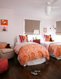 space efficient and chic shared girls u0027 bedroom design ideas