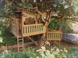 Backyard Zip Line Without Trees by 10 Best Treehouse Plans And Designs Coolest Tree Houses Ever