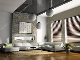 home interior 3d rendering u2014 stock photo hemul75 2767003