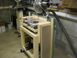 miter saw station by lockwatcher lumberjocks com woodworking