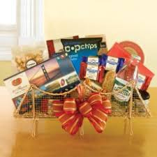 california gift baskets tastes of the state california delicious
