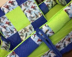 Dodger Crib Bedding by Crib Set Etsy