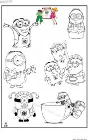 minions coloring pages 6