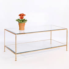 Glass Rectangle Coffee Table Coffee Table Gold Metal Coffee Table Glass Coffee Table