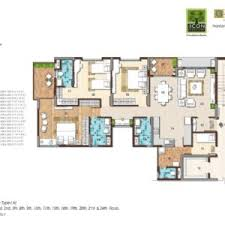 Icon Floor Plan G Corp The Icon Thanisandra Main Road Bangalore