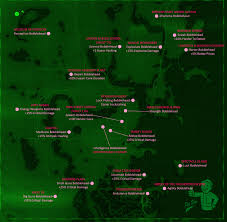 Fallout New Vegas Map With All Locations by Best 25 Fallout 4 Locations Ideas On Pinterest Fallou 4