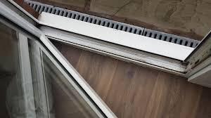 Floors Decor And More Patio Alumunium White Door Frame Between Outdoor Drain And Indoor