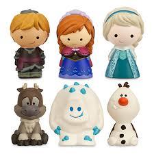 your wdw store disney bath toy set frozen