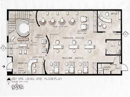 how to design a floor plan spa layout salon floor plans salon floor plans day spa level