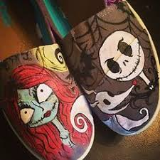 the nightmare before vans by littlemissapril on etsy