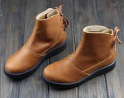 womens brown leather boots sale sale winter brown leather shoes flat