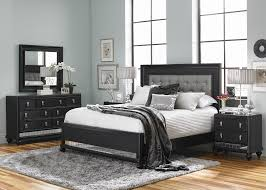 Bedroom Furniture Fayetteville Nc by Diva Queen Upholstered Bed In Midnight Black Samuel Lawrence