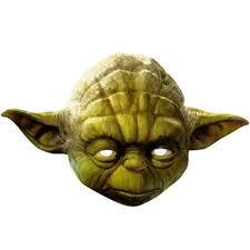 Buy Star Wars Yoda Mask Party Decorations Range Tesco