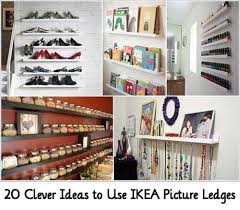 Ikea Picture Ledge 20 Clever Ideas To Use Ikea Picture Ledges Lil Moo Creations