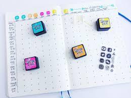 tracking social media stats in my bullet journal zen of planning