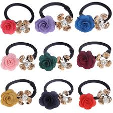 hair bands for women 5pcs lot new fashion women hair accessories black elastic