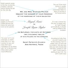 wedding invitation wording etiquette emily post wedding invitation wording ilcasarosf