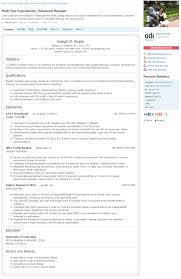 Example Resume Profile Previousnext Resume Profile Statement Cover Letter Template For