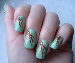 easy nail art designs how you can do it at home pictures
