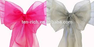Sashes For Sale Gold Fancy Vogue Satin Chair Sash Tie Back Bow Tie Knot Wedding
