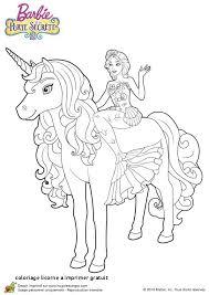 Coloriage Licorne A Imprimer Gratuit Coloriage Princesse Sur Licorne
