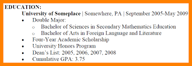 Language On Resume Awesome How To List Education On Resume Still In College Images