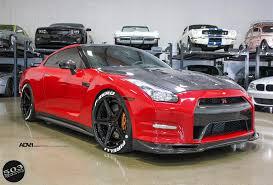 lexus coupe 2005 red nissan gt r black edition adv5 track spec cs wheels adv 1