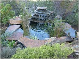backyards amazing small diy ponds with waterfall and stone