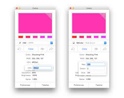colors the color picker color scheme and color palette tool on