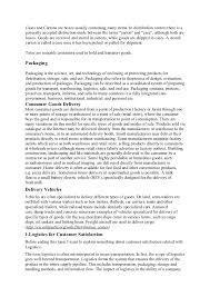 Icu Nurse Job Description Resume by Distribution Logistics