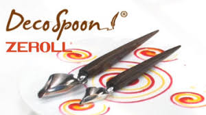 deco spoon zeroll 6100 ds 2 set of stainless steel deco spoons with