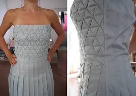 Origami Tessalation - formakers origami tessellation dress romina goransky