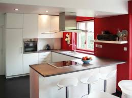 cuisine avec bar am駻icain modele de cuisine moderne americaine cuisines encastrees cbel avec