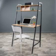 walnut corner computer desk nhieu walnut finish computer desk u0026 shelf desk shelves desks
