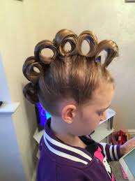 gymnastics picture hair style back easy hair styles for kids to school little girls getful momma