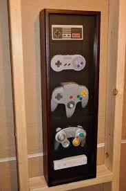 Classic Game Room Derek - classic super n64 gamecube wii nintendo controller wall