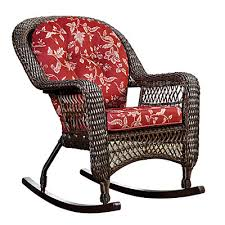 Wilson And Fisher Wicker Patio Furniture Wilson U0026 Fisher Savannah Resin Wicker Cushioned Rocker At Big