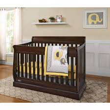 Graco Crib Convertible by Graco Maple Ridge 4 In 1 Fixed Side Convertible Crib Walmart Com