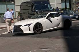 lexus lfa in the usa lexus lc500 strangely snapped on new york u0027s streets before 2017 launch