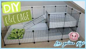 Guinea Pig Cages Walmart Diy C U0026c Guinea Pig Cage Alexandriasanimals Youtube