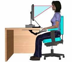 bureau poste de travail comment bien aménager poste de travail sur ordinateur