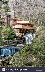 frank lloyd wright waterfall frank lloyd wright fallingwater mill run pa pennsylvania laurel