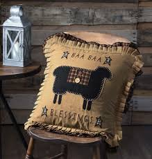 blessings home decor baa baa blessings pillow 18 in allysons place